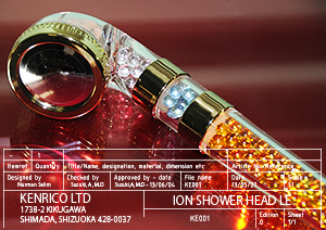 Kenrico Ion Shower Head LE (Limited Edition)