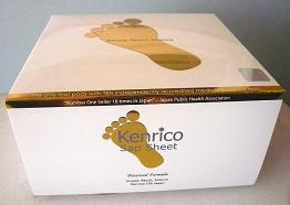 28 KENRICO SUPREME GOLD TRMX3-30th Anniversary Edition DETOX FOOT PADS GIFT PACK - with regular white adhesives