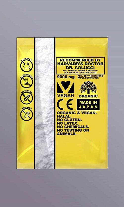 20 KENRICO SUPREME GOLD TRMX LIFE SELF - STICK DETOX PAD + CARBON TITANIUM ADHESIVES